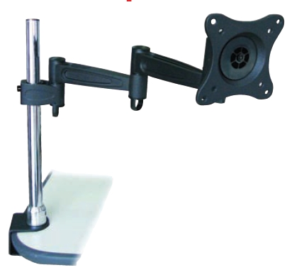 Desktop LCD MONITOR TV Bracket CLAM Mount 180558