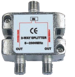 2 way splitter 530202