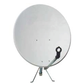 Offset Satellite Dish 400105