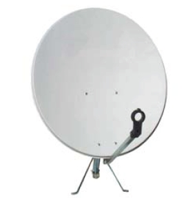 Offset Satellite Dish 400104
