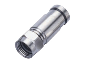 Premium RG6 Compression Connector