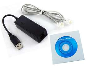 Universal/General USB 56K External Dial Up Voice Fax Data V.9 V.