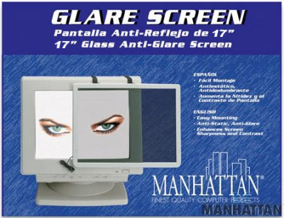 "Manhattan 17"" Anti-Glare Screen 424110"