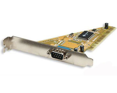 Manhattan Serial PCI Card 1 External DB9 Port