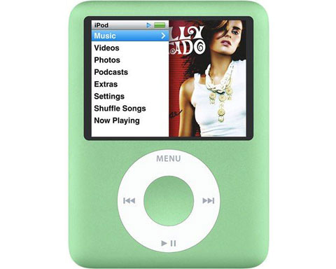 Apple iPod Nano 8GB 3rd Generation, Green - MB253LL/A