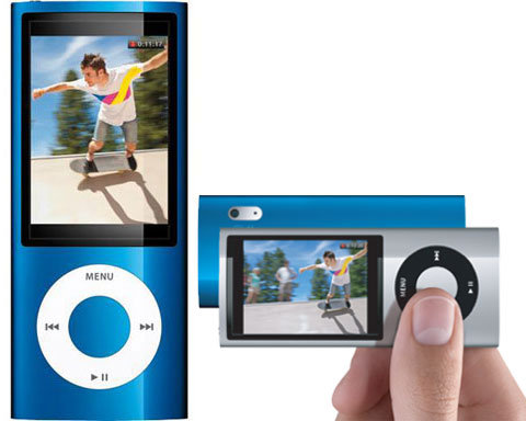 Apple 16GB 5th Gen iPod nano, Blue, Bulit-in Camera - MC066LL/A