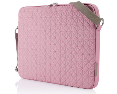 "Belkin 15.4"" Quilted Notebook Carrying Case - Polyester - Pink"