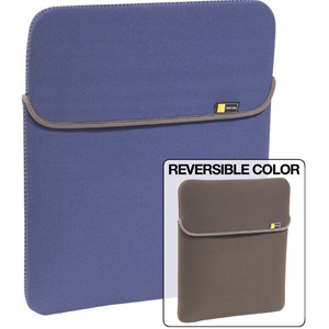 "Case Logic 15.4"" Reversible Laptop Shuttle BLUE NEOPRENE SHUTTLE"