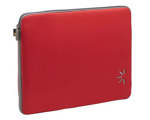 "Case Logic ENS-15 RED 16"" Laptop Sleeve"