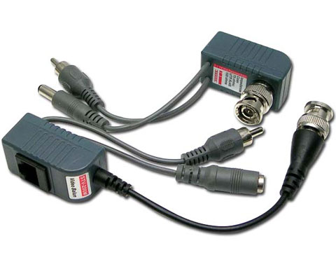 Video Audio Power Balun CCTV Via Twisted Pair