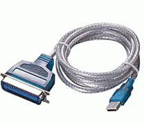USB to Parallel Printer IEEE 1284 CENTRONIC Up to 12 Mbps Data T