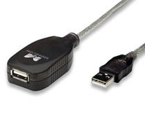 Hi-Speed USB 2.0 Active Extension Cable Extends And Boosts The S