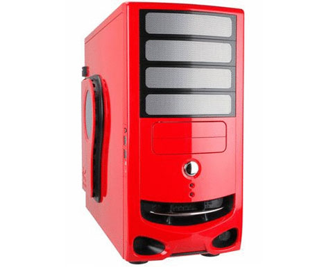 z sold out IN WIN IW-F430.RL Red 0.8mm SECC/ Japanese Steel ATX