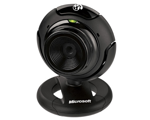 Microsoft LifeCam VX-1000 Webcam - Black - 64L-00003