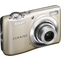 Nikon Coolpix L22 Silver 12MP Digital Camera with 3.6x Optical Z