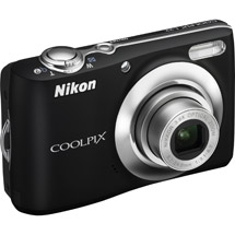 Nikon Coolpix L22 Black 12MP Digital Camera with 3.6x Optical Zo