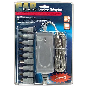 Universal Laptop Power Adapter Kit for Automobile 120W