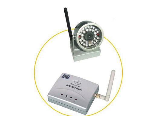 Wireless 2.4GHz Camera and Receiver