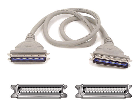 External SCSI Centronics 50 Male to Centronics 50 Male 6ft