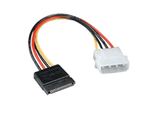 Serial ATA Power Cable 4pin molex to sata female