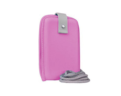 Brookstone Universal Mini MP3 Case - Pink