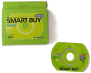 Smart Buy Rewritable CD-R 52MB 12X Multispeed - 10 pcs