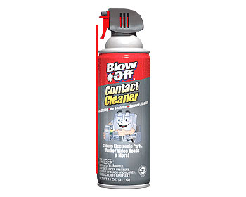 Blowoff CONTACT CLEANER Remove Oil, Dust Etc.
