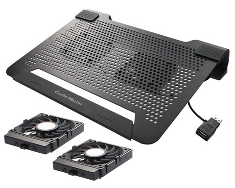 CoolerMaster NotePal U2 /w Removable and Smart 2-Fan