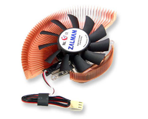 Zalman VF700-CU Ultra Quiet VGA Cooler