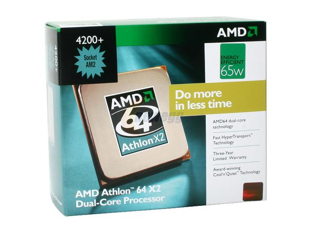 AMD Athlon-64 X2 Dual-Core 4200+ Processor Socket 939 ( ADA4200B
