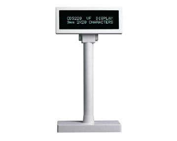 2 Lines Display Pole - RS-232 Serial