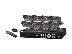 Q-See (QS218-811-5) 8 Channel H.264 Network DVR with Real Time C
