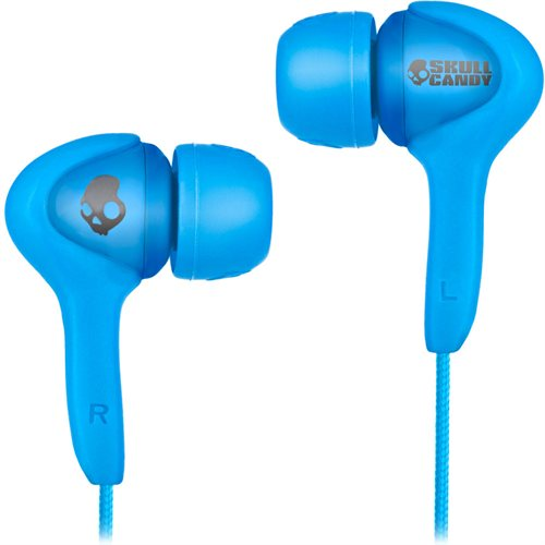 Skullcandy Smokin Buds Shoe Blue w/ Mic In Ear Headphones - S2SB