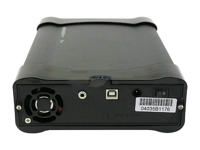 Z AMS VENUS DS5 Aluminum Black 5.25 USB2.0 External Enclosure Mo