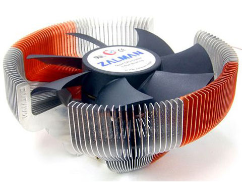 Zalman CNPS7700-AlCu LED Processor Heatsink and Cooling Fan