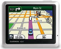 z sold out Garmin nüvi 1200 GPS