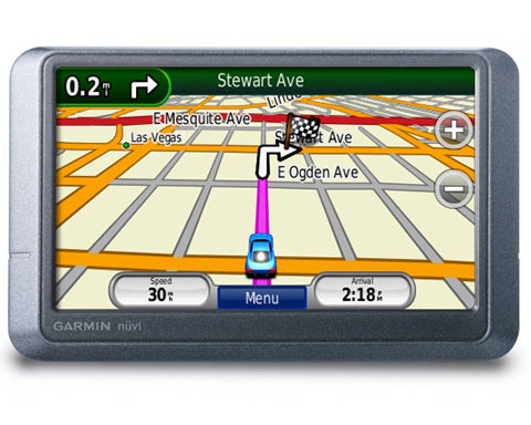 "z sold out Garmin nuvi 205w Automobile Navigator - 3.5"" TFT Colo"