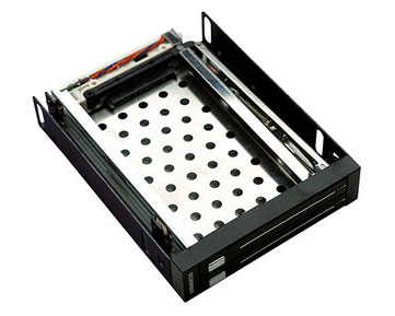 "Manhattan 2.5"" SATA Drive Rack - Dual Drive ,  L-Type , Internal"