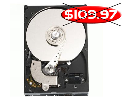 Z SOLD OUT Western Digital Caviar GP WD10EACS 1TB Hard Drive