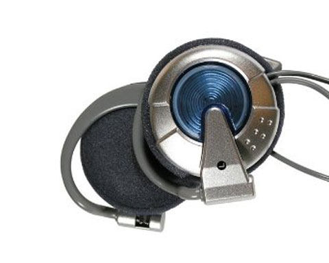Zenith Clip-On Headphones