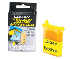 Brother LC04Y Yellow Ink Cartridge for MFC-7300C 7400C 9200C