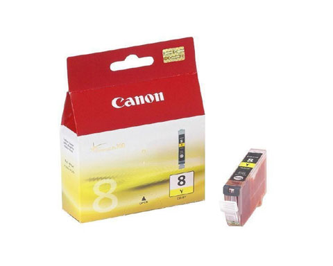 Canon 8Y Yellow Ink Cartridge compatible with PIXMA SERIES