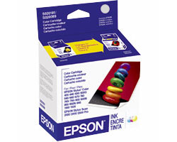 EPSON S020191 Color Ink Cartridge Stylus Color 440 640 660 670