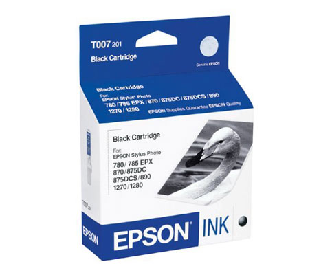 EPSON T007201 Black Ink Cartridge Stylus Photo 780 785EXP 825