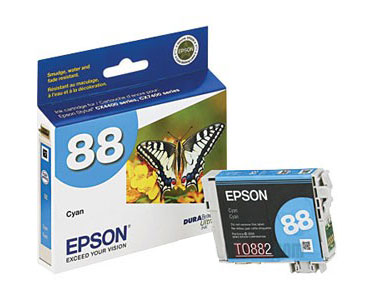 Epson T088220 Cyan Ink Cartridge for Stylus NX100 NX105 NX200
