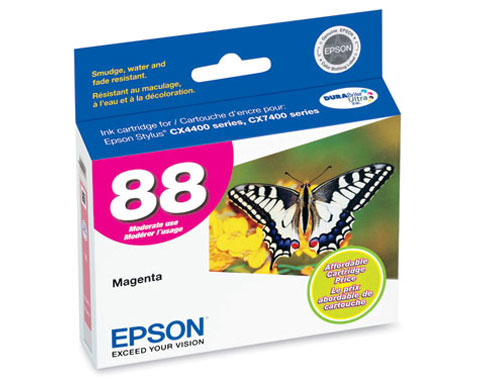 Epson T088320 Magenta Ink Cartridge for Stylus NX100 NX105 NX200