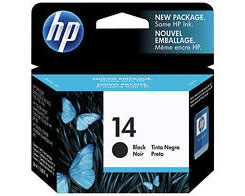 HP 14 Black Ink Cartridge