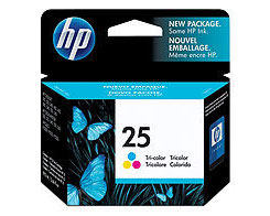 HP 25 Tricolor Ink Cartridge