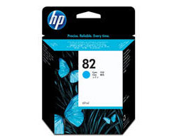 HP 82 Cyan Ink Cartridge (69 ml)
