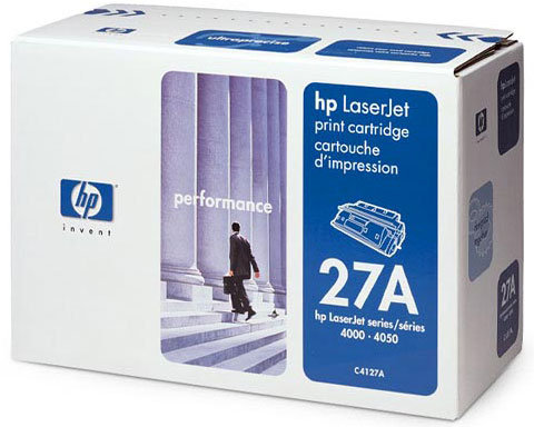 HP C4127A Black Toner Cartridge for HP LaserJet 4000 4050 series